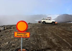 Glacier roads